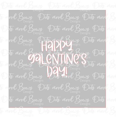 Happy Galentine's Day Stencil Digital Download