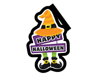 Happy Halloween Cutter - Dots and Bows Designs