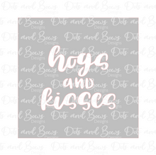 Load image into Gallery viewer, Hogs and Kisses 2 Piece Stencil Digital Download