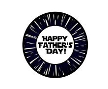 Load image into Gallery viewer, Happy Father's Day SW Package Tags - Dots and Bows Designs