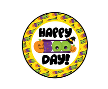 Load image into Gallery viewer, Happy Boo Day Package Tag - Dots and Bows Designs