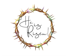 Load image into Gallery viewer, He Is Risen Package Tags - Dots and Bows Designs