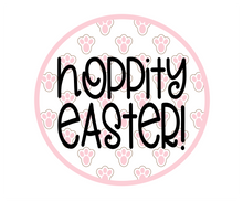 Load image into Gallery viewer, Hoppity Easter Paw Print Package Tags - Dots and Bows Designs