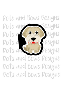 Labrador Cutter - Dots and Bows Designs