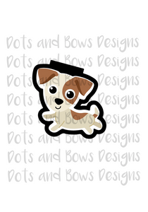 Jack Russell Cutter - Dots and Bows Designs
