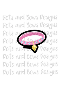 Collar Cutter - Dots and Bows Designs