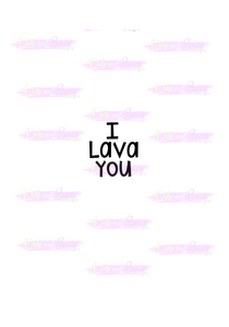 I Lava You Cutter - Dots and Bows Designs