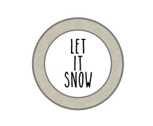 Load image into Gallery viewer, Let It Snow RDI Package Tags - Dots and Bows Designs
