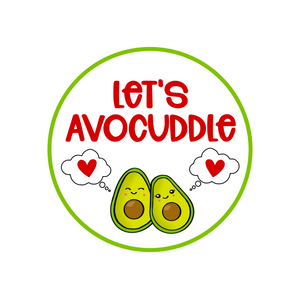 Let's Avocuddle Package Tags
