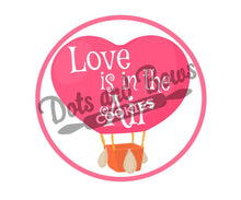 Load image into Gallery viewer, Love Is In The Air Package Tags - Dots and Bows Designs