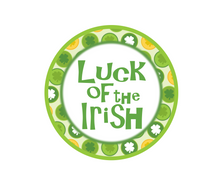 Load image into Gallery viewer, Luck of the Irish Package Tags - Dots and Bows Designs