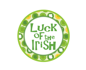 Luck of the Irish Package Tags - Dots and Bows Designs