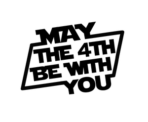 May the 4th Cutter - Dots and Bows Designs