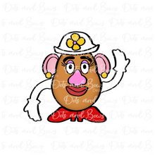 Load image into Gallery viewer, Mr/Mrs Potato Head Platter STL Cutter Set Files