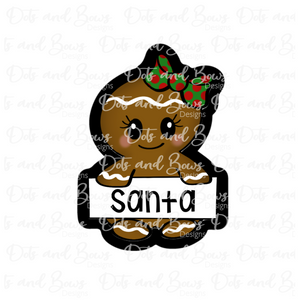 Name Plaque Ginger Cutter
