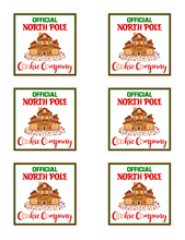 Load image into Gallery viewer, North Pole Cookie Co 3x3 Insert Card