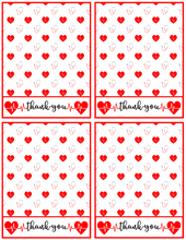 Load image into Gallery viewer, Nurse Thank You Card 4x5 - Dots and Bows Designs