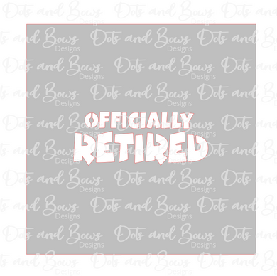 Officially Retired Stencil Digital Download
