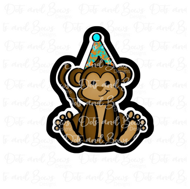 Party Monkey STL Cutter File