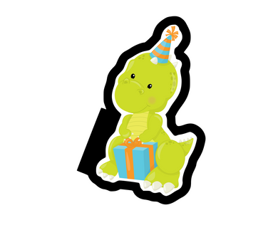 Party Dino 2 Cutter - Dots and Bows Designs