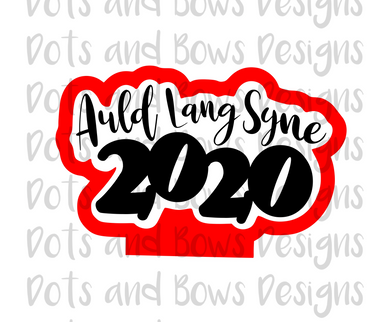 2020 New Year Cutter - Dots and Bows Designs