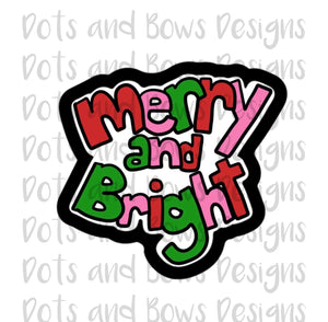 Merry and Bright Cutter - Dots and Bows Designs