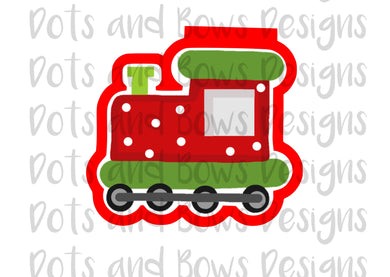 Christmas Express Cutter - Dots and Bows Designs
