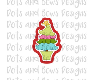 Whimsey Tree Cutter - Dots and Bows Designs