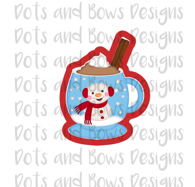 Cinnamon Cocoa Cutter - Dots and Bows Designs