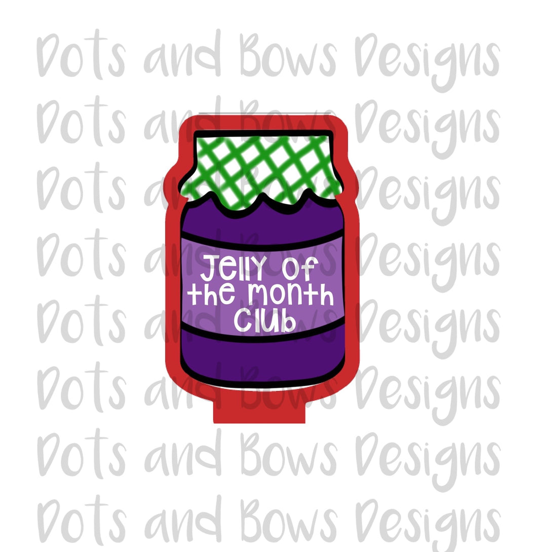 Jelly of the Month Cutter - Dots and Bows Designs