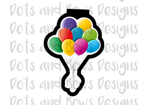 Balloon Bundle Cutter - Dots and Bows Designs