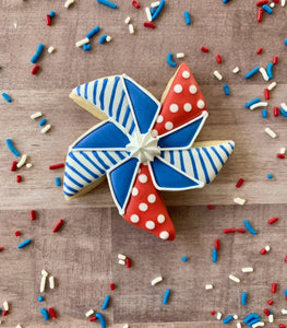 Pinwheel Cutter - Dots and Bows Designs