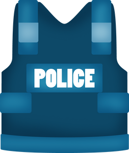 Police Vest Cutter - Dots and Bows Designs