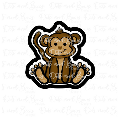 Sitting Monkey STL Cutter File