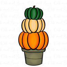 Load image into Gallery viewer, Stacked Pumpkins Platter Cutter Set