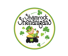 Load image into Gallery viewer, Shamrock Shenanigans Package Tags - Dots and Bows Designs