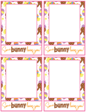 Load image into Gallery viewer, Some Bunny Loves You Card 4x5 - Dots and Bows Designs