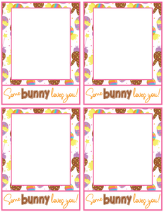 Some Bunny Loves You Card 4x5 - Dots and Bows Designs