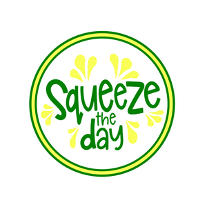 Squeeze the Day Package Tags - Dots and Bows Designs