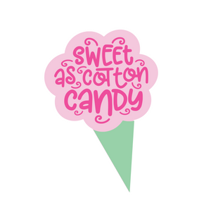 "Cotton Candy 5"" STL Cutter File - Dots and Bows Designs"