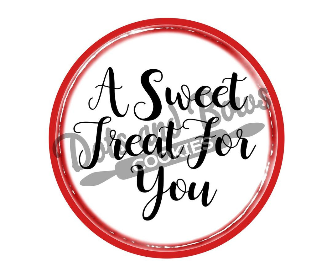 Sweet Treat Package Tags - Dots and Bows Designs