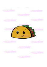 Load image into Gallery viewer, Taco Cutter - Dots and Bows Designs