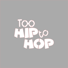 Load image into Gallery viewer, Too Hip to Hop Stencil Digital Download - Dots and Bows Designs