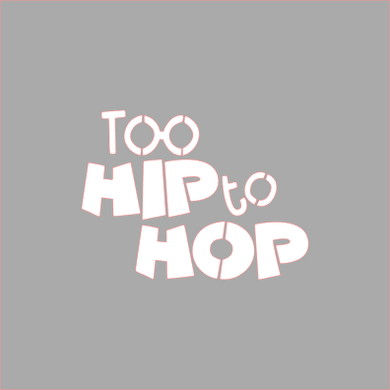 Too Hip to Hop Stencil Digital Download - Dots and Bows Designs