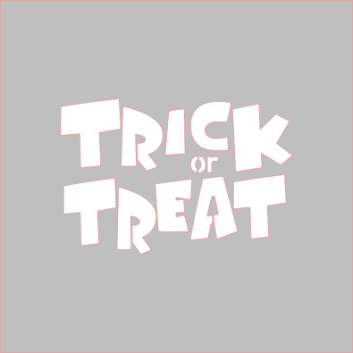 Trick or Treat/Trunk or Treat Stencil