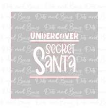 Load image into Gallery viewer, Undercover Secret Santa Stencil