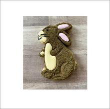 Load image into Gallery viewer, Long Eared Bunny Cutter - Dots and Bows Designs