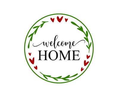 Welcome Home Floral Package Tags - Dots and Bows Designs