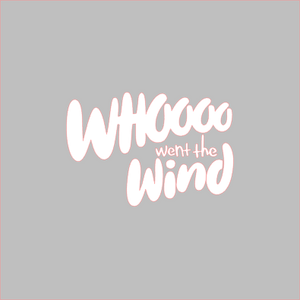 Whoo Went the Wind Stencil Digital Download