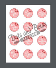 Load image into Gallery viewer, We Go Together Package Tags - Dots and Bows Designs